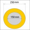 Průměr 150/250 mm