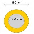 Průměr 250/350 mm